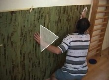 Posting of Bamboo Wallpaper Harmonizing with Bamboo Floor